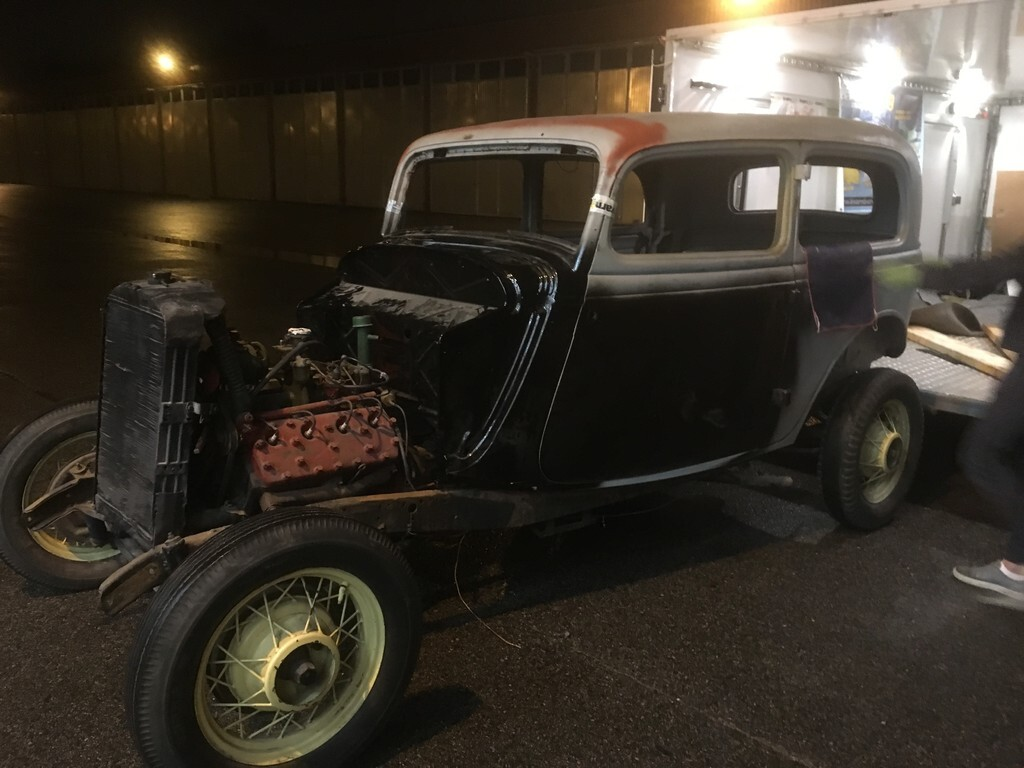 34 Ford tudor orginal plåtkaross