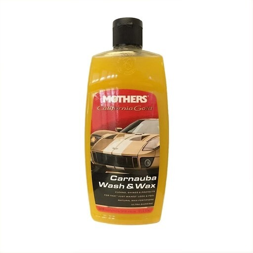 473 ml Mothers Wash & Wax Schampo